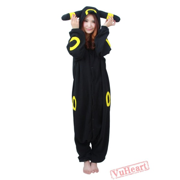 Black Pokemon Kigurumi Onesies Pajamas Costumes for Women & Men