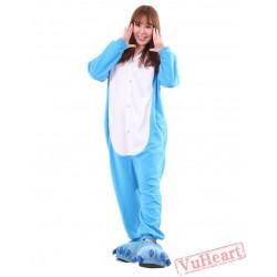 Blue Dragon Kigurumi Onesies Pajamas Costumes for Women & Men