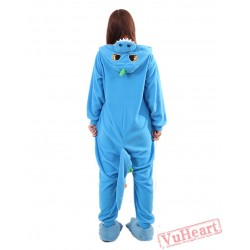 Blue Dragon Kigurumi Onesies Pajamas Costumes for Women & Men