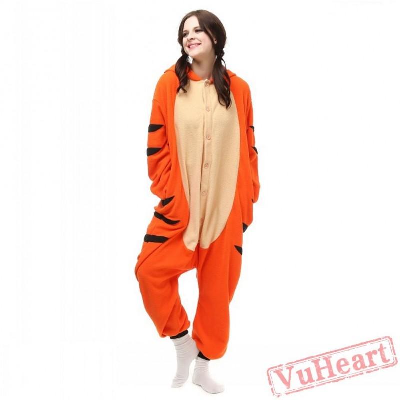 Tiger onesie for women
