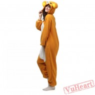 Lazy Bear Kigurumi Onesies Pajamas Costumes for Women & Men