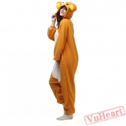 Lazy Bear Kigurumi Onesies Pajamas Costumes for Women & Men