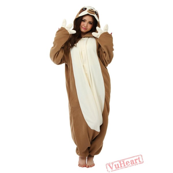 Flash Sloth Kigurumi Onesies Pajamas Costumes for Women & Men