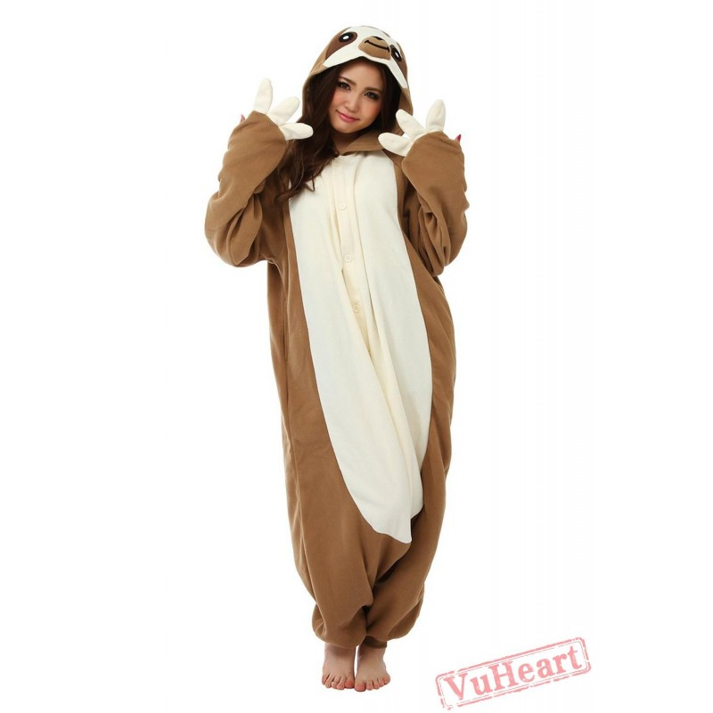 Flash Sloth Kigurumi Onesies Pajamas Costumes for Women u0026 Men  sc 1 st  VuHeart & Women u0026 Men Flash Sloth Kigurumi Onesies Pajamas Costumes