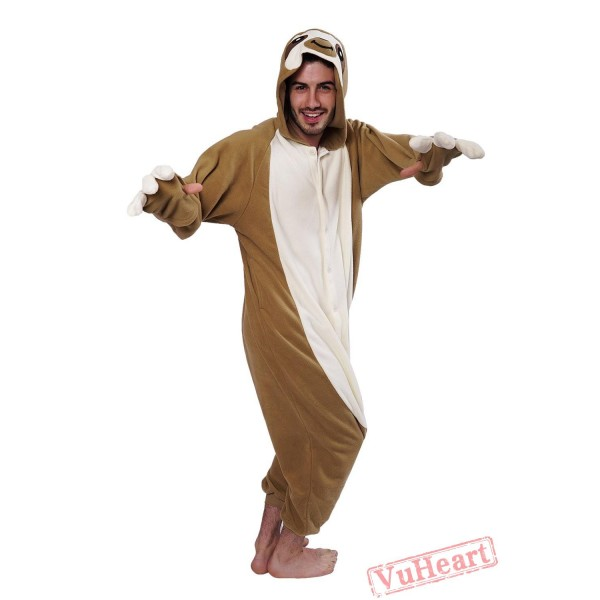 Flash Sloth Kigurumi Onesies Pajamas Costumes for Women & Men