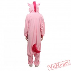 Pink Unicorn Kigurumi Onesies Pajamas Costumes for Women & Men