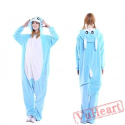 Pink Ears Rabbit Bunny Kigurumi Onesies Pajamas Costumes for Women & Men