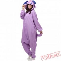 Pokemon Purple Monster Kigurumi Onesies Pajamas Costumes for Women & Men