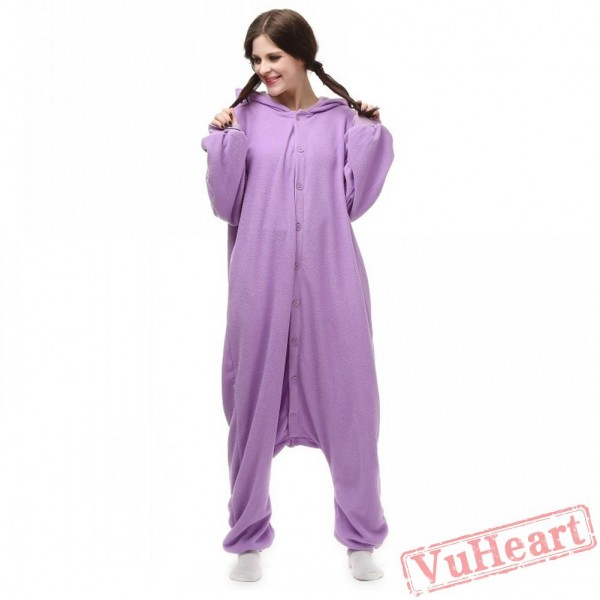 Pokemon Purple Monster Kigurumi Onesies Pajamas Costumes for Women & Men