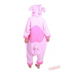 Pink Stitch Kigurumi Onesies Pajamas Costumes for Women & Men