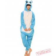 Blue Mouse Kigurumi Onesies Pajamas Costumes for Women & Men