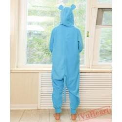 Blue Mouse Kigurumi Onesies Pajamas Costumes for Women & Men