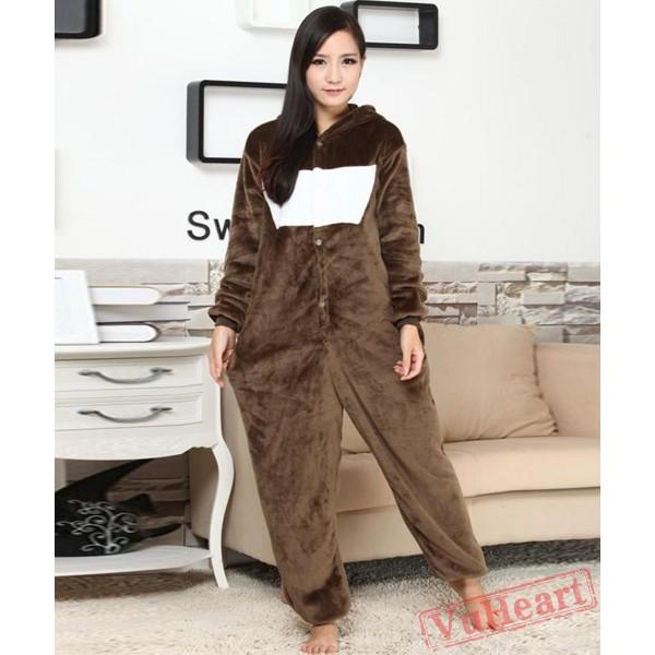 Cute Bear Kigurumi Onesies Pajamas Costumes for Women & Men