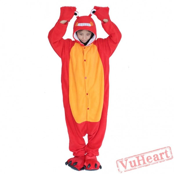 Lobster Kigurumi Onesies Pajamas Costumes for Women & Men