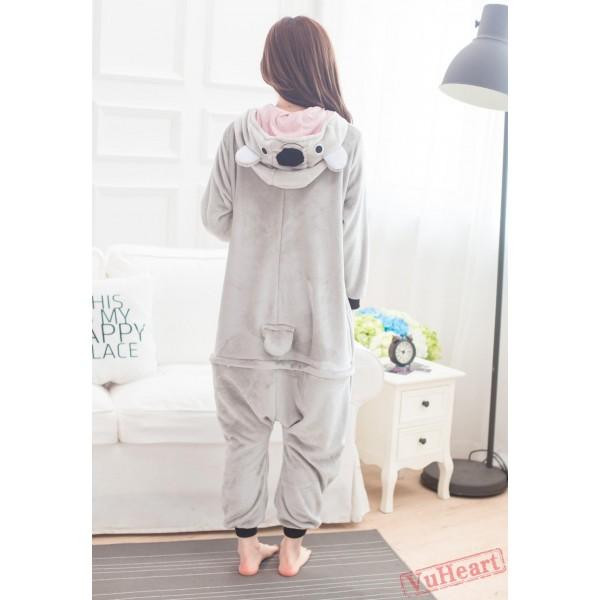 Cute Koala Kigurumi Onesies Pajamas Costumes for Women & Men
