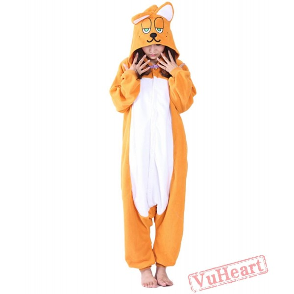 Garfield Kigurumi Onesies Pajamas Costumes for Women & Men