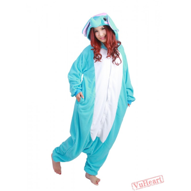Blue Elephant Kigurumi Onesies Pajamas Costumes for Women u0026 Men  sc 1 st  VuHeart & Women u0026 Men Blue Elephant Kigurumi Onesies Pajamas Costumes
