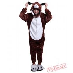 Dog Kigurumi Onesies Pajamas Costumes for Women & Men