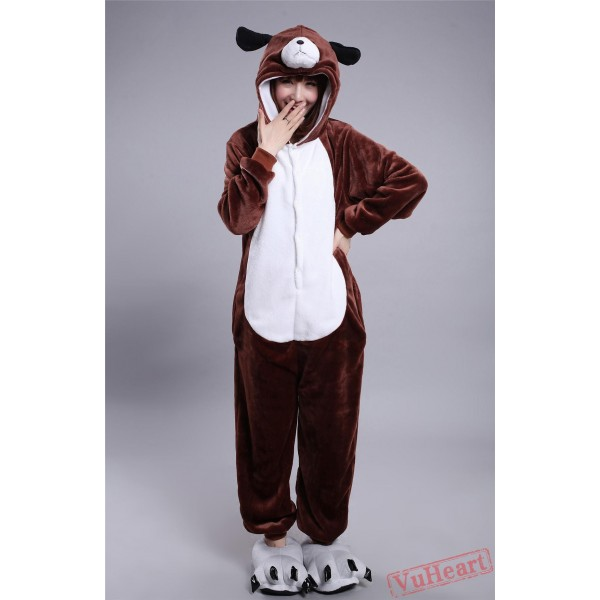 Dog Kigurumi Onesies Pajamas Costumes for Women & Men