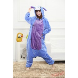 Cartoon Donkey Kigurumi Onesies Pajamas Costumes for Women & Men