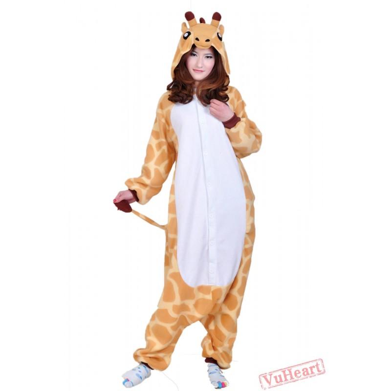 36be41b84c Women   Men Giraffe Kigurumi Onesies Pajamas Costumes