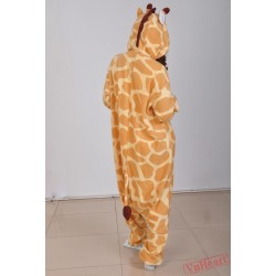 Giraffe Kigurumi Onesies Pajamas Costumes for Women & Men