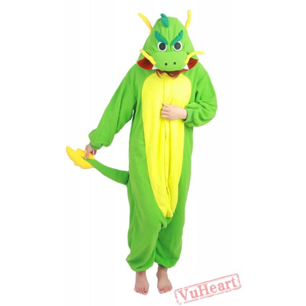 Chinese Dragon Kigurumi Onesies Pajamas Costume Hoddies