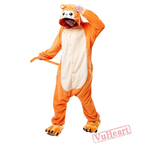 Golden Monkey Kigurumi Onesies Pajamas Costumes for Women & Men