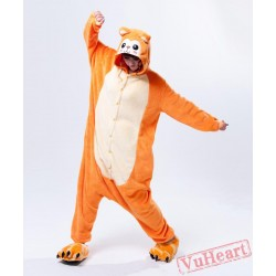 Golden Monkey Kigurumi Onesies Pajamas Costumes for Women & Men