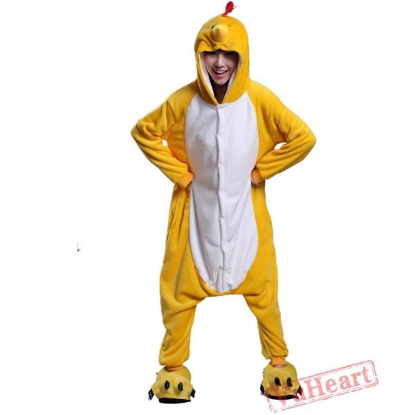 Chicken Kigurumi Onesies Pajamas Costumes for Women & Men