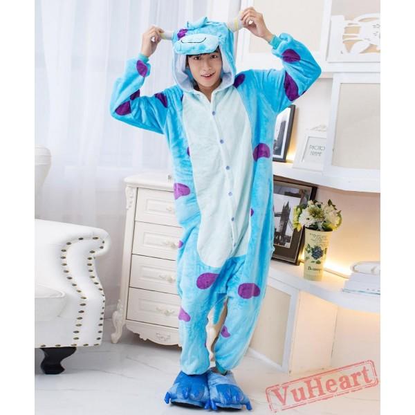 Sullivan Monster Kigurumi Onesies Pajamas Costumes for Women & Men
