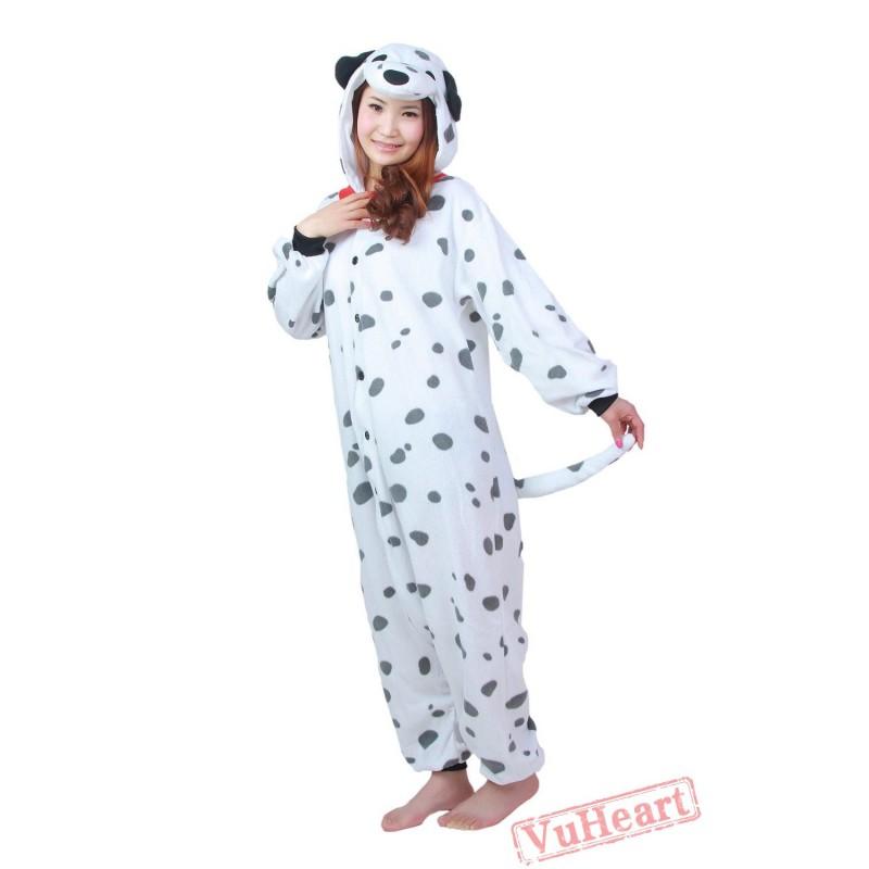1a598efad6 Cartoon Spotted Dog Kigurumi Onesies Pajamas Costumes Hoddies Sc 1 St  VuHeart