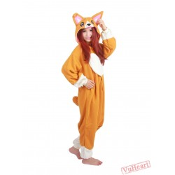 Crogi Dog Kigurumi Onesies Pajamas Costumes for Women & Men