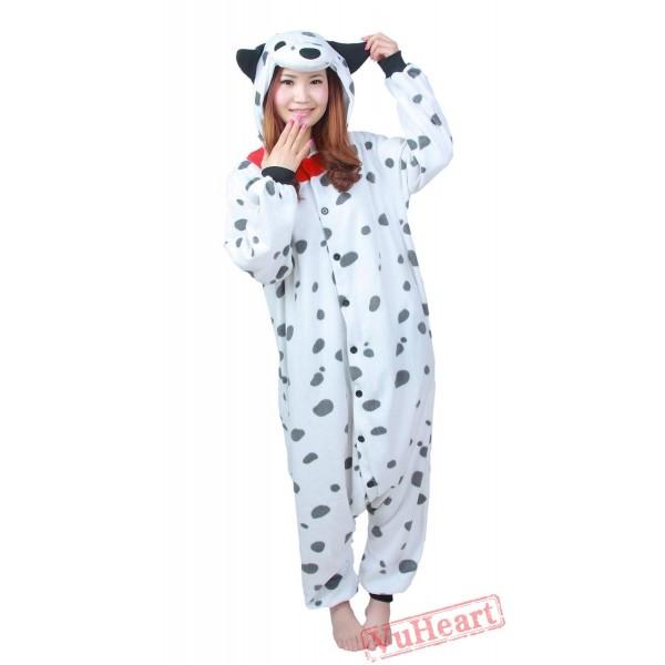 Cartoon Spotted Dog Kigurumi Onesies Pajamas Costumes Hoddies