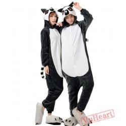 Lemur Couple Onesies / Pajamas / Costumes