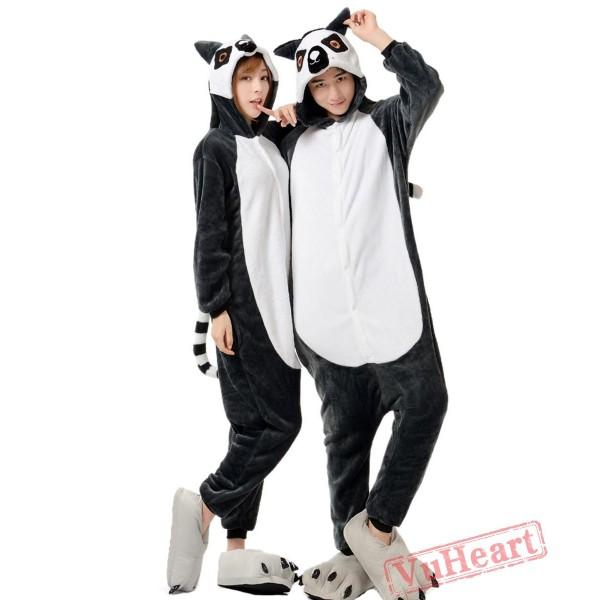Lemur Kigurumi Onesies Pajamas Costumes for Women & Men