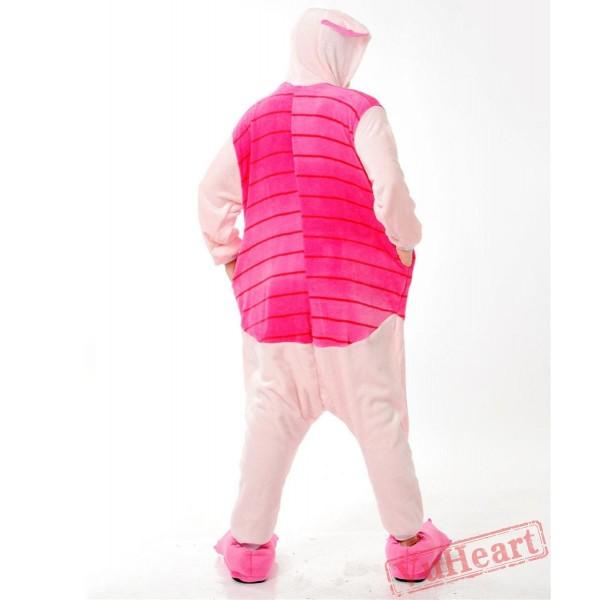 Pink Piglet Pig Kigurumi Onesies Pajamas Costumes for Women & Men