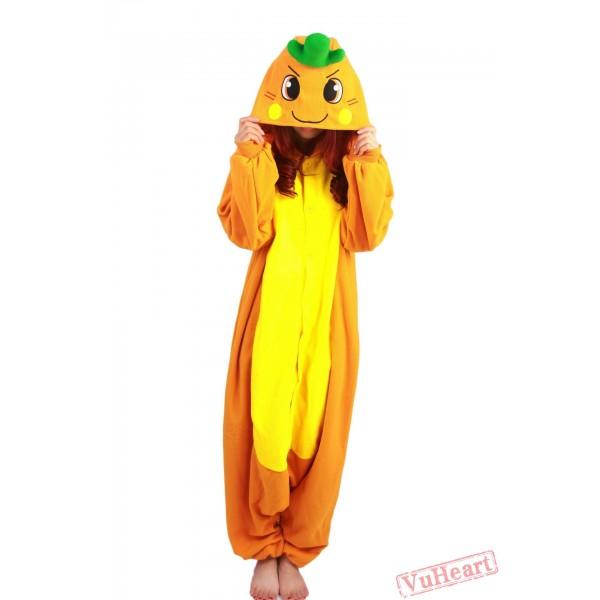 Carrot Kigurumi Onesies Pajamas Costumes for Women & Men