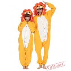 Lioness Kigurumi Couple Onesies / Pajamas / Costumes