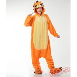 Lion Kigurumi Cosplay Couple Onesies / Pajamas / Costumes