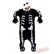Skull Kigurumi Onesies Pajamas Costumes for Women & Men