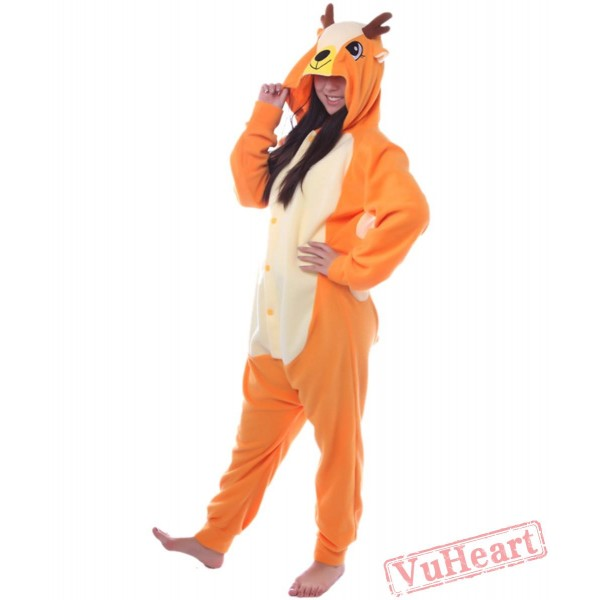 The Deer Kigurumi Onesies Pajamas Costumes for Women & Men