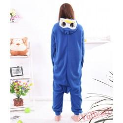 Cute Blue Penguin Kigurumi Onesies Pajamas Costumes for Women & Men