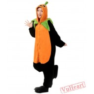Pumpkin Kigurumi Onesies Pajamas Costumes for Women & Men