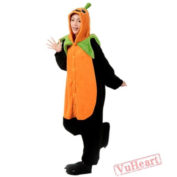 Pumpkin Kigurumi Onesies Pajamas Costumes for Women & Men
