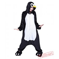 Black Penguin Kigurumi Onesies Pajamas Costumes for Women & Men