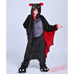 Bat Kigurumi Onesies Pajamas Costumes for Women & Men