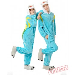 Cartoon Cosplay Couple Onesies / Pajamas / Costumes