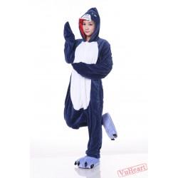 Blue Shake Kigurumi Onesies Pajamas Costumes for Women & Men
