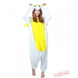 Yellow Unicorn Kigurumi Onesies Pajamas Costumes for Women & Men